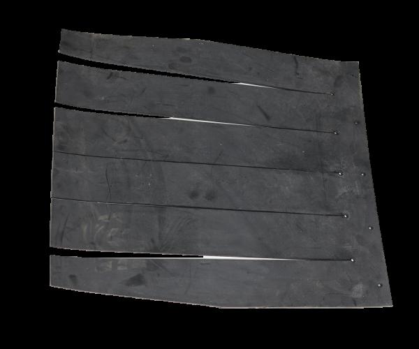 Hopper safety rubber insert - guma_nasypky_829c3b305d5154291c651b6b2cb8b125