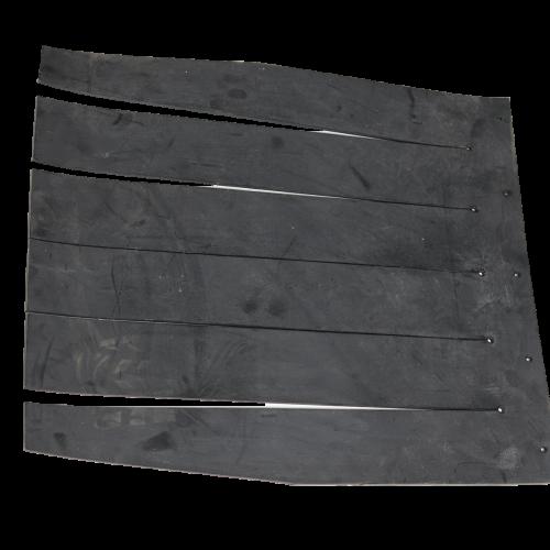 Hopper safety rubber insert - guma_nasypky_dcbc9d7a26788967a92344116e348287